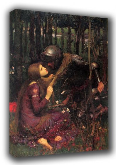 Waterhouse, John William: Beautiful Woman Without Mercy/Pity. Romanticism Fine Canvas. Sizes: A4/A3/A2/A1 (00832)